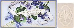 Kup Zestaw mydeł w kostce Fiołek - Saponificio Artigianale Fiorentino Violet (3 x soap 125 g)