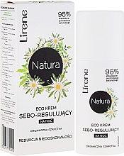Kup Ekokrem seboregulujący na noc Redukcja niedoskonałości Organiczna szarotka - Lirene Natura Eco Cream