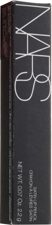 Kredka do ust - Nars Satin Lip Pencil — фото N1