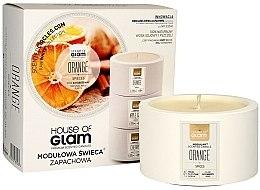 Kup Świeca zapachowa - House of Glam Orange Spices Candle