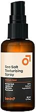 Kup Teksturyzujący spray do stylizacji włosów z solą morską o średniej trwałości dla mężczyzn - Beviro Men's Sea Salt Texturizing Spray Medium Hold