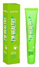 Kup PRZECENA! Naturalna pasta do zębów - Spasta I Am Healthy Toothpaste *