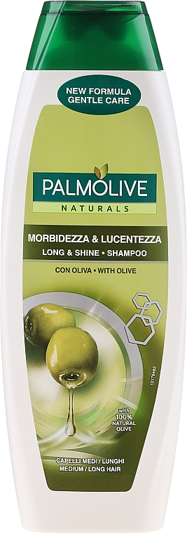 Szampon - Palmolive Naturals Long & Shine Shampoo — фото N1