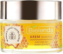 Odżywczo-nawilżający krem do twarzy Miód Manuka i mleczko pszczele - Bielenda Manuka Honey Nutri Elixir Day/Night Cream — фото N2