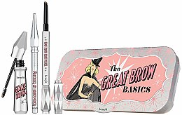 Kup Zestaw do brwi Wszystko w jednym - Benefit The Great Brow Basics (brow/gel 3 g + brow/pencil 0,17 g + brow/pencil/mini 0,04 g)