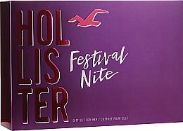 Kup Hollister Festival Nite For Her - Zestaw (edp/ 100ml + b/lot100ml + etui)