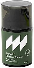 Kup Nawilżający krem do twarzy z ekstraktem z alg dla mężczyzn - Monolit Skincare For Men Face Cream With Algae Extract