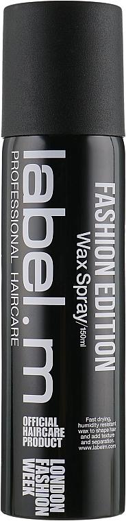 Wosk w sprayu do włosów - Label.m Wax Spray — фото N1
