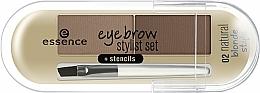 Kup Puder do brwi - Essence Eyebrow Stylist Set