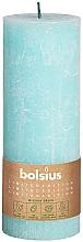 Kup Świeca cylindryczna, niebieska, 190x68 mm - Bolsius