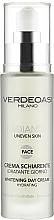 Kup Rozjaśniający krem na dzień o działaniu nawilżającym - Verdeoasi Radiance Whitening Day Cream Hydrating