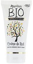 Kup Odmładzający krem do twarzy na noc - Marilou Bio Night Cream Argan