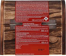 Zestaw - Old Spice Deep Sea Wooden Chest (deo/spray/150ml + deo/50g + sh/gel/250ml + ash/lot/100ml) — фото N12
