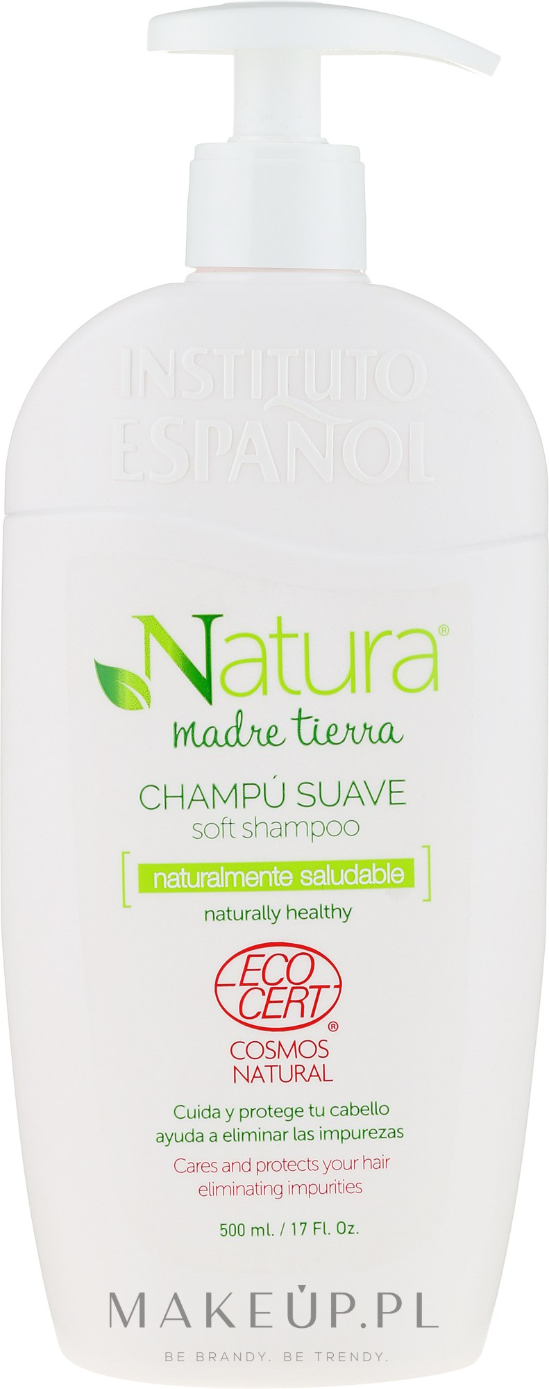 Delikatny szampon do włosów - Instituto Espanol Natura Madre Tierra Soft Shampoo — фото 500 ml
