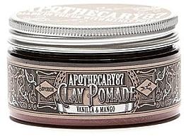 Kup Pomada do włosów - Apothecary 87 Vanilla & Mango Clay Pomade
