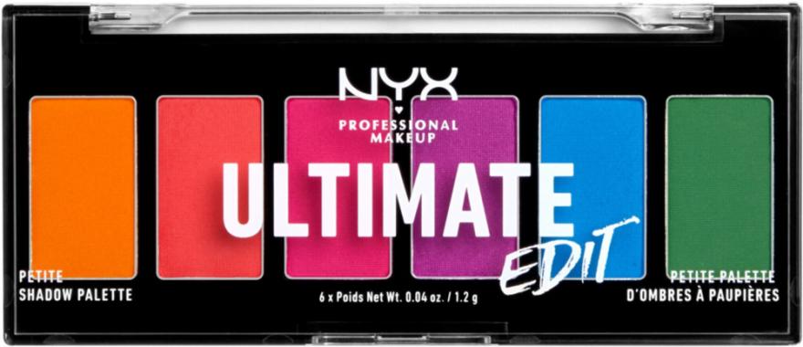 Paletka cieni do powiek - NYX Professional Makeup Ultimate Edit Petite Shadow Palette — фото N4