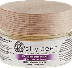 Kup Naturalny krem-maska anti-aging na dzień i noc - Shy Deer Natural Cream-mask