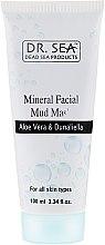 Kup Mineralna maska błotna do twarzy z aloesem i algami dunaliella - Dr. Sea Mineral Mud Mask