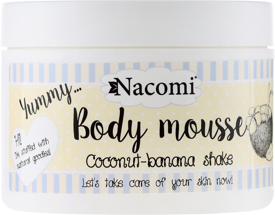 Mus do ciała Shake kokosowo-bananowy - Nacomi Body Mousse