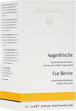 Kup Odświeżający kompres do zmęczonych oczu - Dr. Hauschka Eye Revive Refreshing Compresses Soothie Tired Eyes