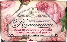 Kup Naturalne mydło w kostce Róża florencka i piwonia - Nesti Dante Romantica