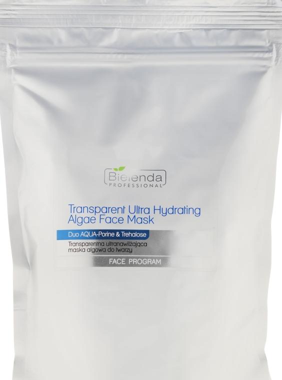 Transparentna ultranawilżająca maska algowa do twarzy - Bielenda Professional Face Program Transparent Ultra Hydrating Algae Face Mask (uzupełnienie)