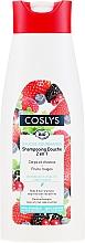 Kup Organiczny szampon do włosów i ciała z czerwonymi jagodami, bez dodatku mydła - Coslys Body Care Body And Hair Shampoo With Red Berries