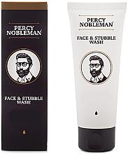 Kup Żel do mycia twarzy i brody - Percy Nobleman Face & Stubble Wash