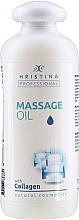 Kup Olejek do masażu z kolagenem - Hristina Professional Massage Oil With Collagen