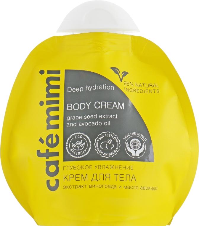 Krem do ciała Głębokie nawilżenie - Café Mimi Deep Hydration Body Cream