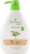 Kup Kremowe mydło w płynie do rąk Oliwka - Dermomed Oliva Cream Soap