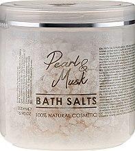 Kup Naturalna sól do kąpieli Perła i piżmo - Sezmar Collection Professional Pearl And Musk Bath Salts