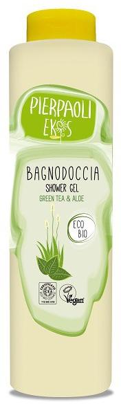 Żel pod prysznic z zieloną herbatą i aloesem - Ekos Personal Care Shower Gel Greel Tea & Aloe — фото N1
