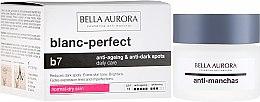 Kup Krem przeciw plamom pigmentacyjnym do skóry suchej SPF 15 - Bella Aurora B7 Dry Skin Daily Anti-Ageing Anti-Dark Spot Care (uzupełniona nazwa)