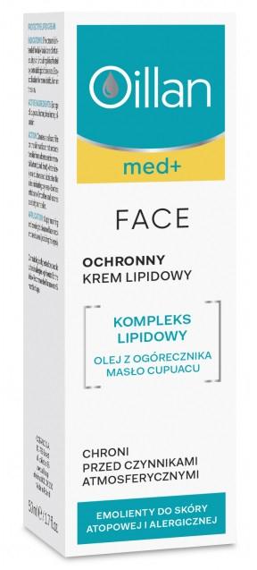 Ochronny krem lipidowy - Oillan Med+ — фото N1