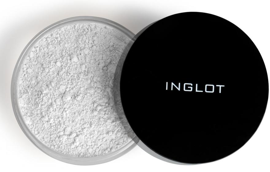 Sypki puder matujący - Inglot Mattifying Loose Powder — фото N1