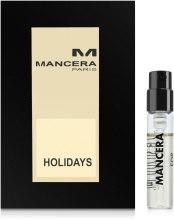 Kup Mancera Holidays - Woda perfumowana (próbka)