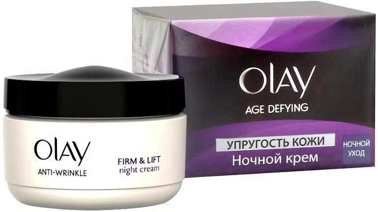 Krem na noc Elatyczność skóry - Olay Age Defying Night Cream — фото N4