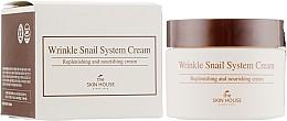 Kup Przeciwzmarszczkowy krem do twarzy ze śluzem ślimaka - The Skin House Wrinkle Snail System Cream