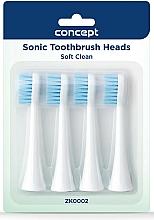 Kup Wymienne końcówki do szczoteczki do zębów, ZK0002 - Concept Sonic Toothbrush Heads Soft Clean