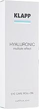 Kup Hialuronowy żel do powiek - Klapp Hyaluronic Eye Roll-On