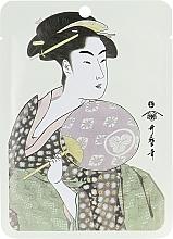 Kup Maseczka do twarzy w płachcie Kwiat wiśni - Mitomo Royal Jelly Cherry Blossom Facial Essence Mask