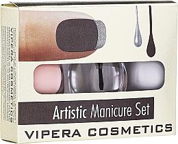 Kup Zestaw - Vipera Artistic Manicure Set (3 x nail/pol 5,5 ml)
