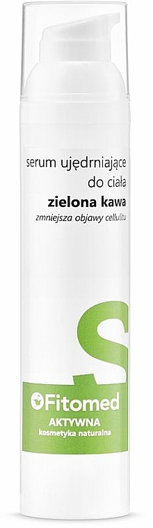 Ujędrniające serum antycellulitowe do ciała Zielona kawa - Fitomed Aktywna kosmetyka naturalna