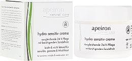 Kup Nawilżający krem do skóry wrażliwej - Apeiron Hydro Sensitiv Cream 24h