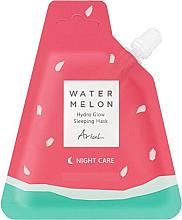 Kup Nawilżająca maska rozświetlająca do twarzy na noc Arbuz - Ariul Watermelon Hydro Glow Sleeping Mask (uzupełnienie)