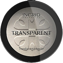Kup Transparentny puder w kompakcie - Ingrid Cosmetics HD Beauty Innovation Transparent Powder
