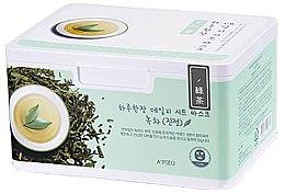Kup Zestaw masek na tkaninie z ekstraktem z zielonej herbaty - A'pieu Daily Sheet Mask Green Tea Soothing