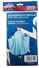 Kup Peleryna fryzjerska, niebieska - Ronney Professional Cutting Cape