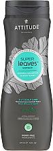 Kup Naturalny szampon i żel pod prysznic dla mężczyzn - Attitude Super Leaves Natural Shampoo & Body Wash 2-In-1 Scalp Care